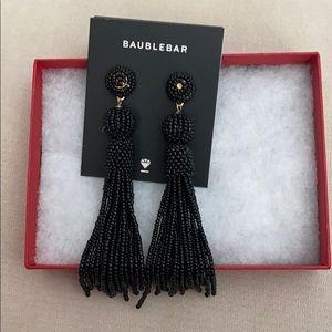 BaubleBar Black Bead Earrings
